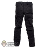 Pants: DamToys Black Cargo Pants