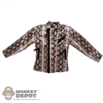 Coat: DamToys Snake Skin Jacket