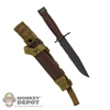 Knife: DamToys M10 Bayonet w/Sheath