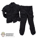 Uniform: DamToys Black Tactical Uniform
