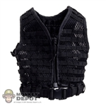 Vest: DamToys Black MOLLE SPOSN Vest w/Belt