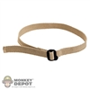 Belt: Dam Toys BDU Brown w/Black Buckle