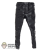 Pants: DamToys Black Leather Pants