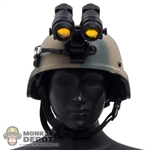 Helmet: DamToys MICH 2000 Helmet w/NVG Mount & Battery Pack