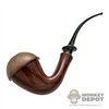 Pipe: DamToys Wooden Bent Pipe (Plastic)