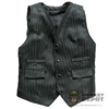 Vest: DamToys 3 Button Black Vest