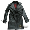 Jacket: DamToys Black Leatherlike Trench Coat