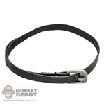 Belt: DamToys Black Leatherlike Belt w/Buckle