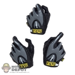 Hands: DamToys Black/Gray Tactical Gloved Hands