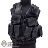Vest: DamToys Tactical Vest w/Belt & Pouches