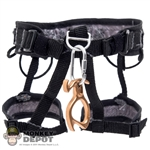 Harness: DamToys Tactical Rappelling Harness w/Gold Petzl Decender