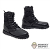 Boots: DamToys Black Panama Style Boots