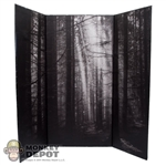 "Display: DamToys Forest Backdrop (14.5"" X 16"")"