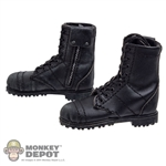 Boots: DamToys Leather Boots w/Side Zipper