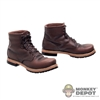 Boots: DamToys Brown Boots