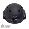 Helmet: DamToys Black Base Jump Helmet