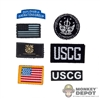Insignia: DamToys US Coast Guard Patch Set