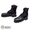 Boots: DamToys Black Type 07 Boots (Lightly Scuffed)