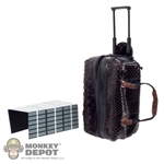 Bag: DamToys Snake Skin Travel Pack w/Wheels