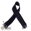 Scarf: DamToys Black & Gray Checkered Design