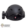 Helmet: DamToys Black Base Jump Helmet w/HD Camera