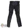 Pants: DamToys Black Motorcycle Jeans