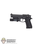Pistol: DamToys Beretta 92 w/Tactical Light
