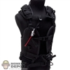 Vest: DamToys Black Tactical Body Armor w/Belt