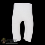 Shorts: DamToys Knee Length White Padded Shorts