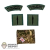 Insignia: DamToys British Patches (Velcro & Peel n Stick)