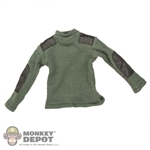 Shirt: DamToys British Green Army Sweater