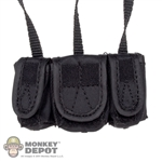 Pouch: DamToys Black Medical Firing System Pouch