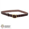 Belt: DamToys Brown Leather Belt