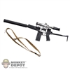 Rifle: DamToys 9A-91 Assault Rifle w/Silencer & PSO-1 Sight