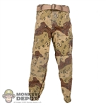 Pants: DamToys Universal Soldiers Battle Dress Pants w/Belt