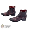Shoes: DamToys Two Tone Molded Boots w/Ankle Pegs