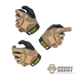 Hands: DamToys Molded Two Tones Gloved Set