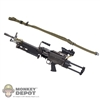 Rifle: DamToys L110A1 Light Machine Gun w/ACOG & Sling (MINIMI PARA LMG)