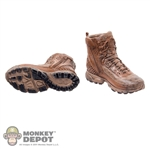 Boots: DamToys Molded Under Armour Boots w/Ankle Pegs