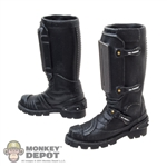 Boots: DamToys Black Molded Female Boots