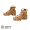 Boots: DamToys Tan Female Tactical Boots