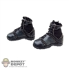 Boots: DamToys Black Female Tactical Boots