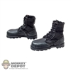 Boots: DamToys Black Jungle Boots (Weathered)