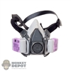 Mask: DamToys Female Half-Face Respirator