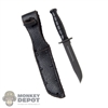 Knife: DamToys Ka-Bar Knife w/Sheath