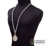 Chain: DamToys Silver Necklace w/Pendant