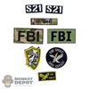 Insignia: DamToys FBI San Diego Patch Set