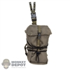 Pouch: DamToys Ranger Green Leg Drop GP Pouch