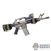 Rifle: DamToys IDF CAR-15 Carbine w/M21 Reflex Sight & Mount