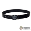Belt: Double Play Black Harley Davidson Belt